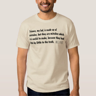 Jules Verne Quote Science T-Shirt