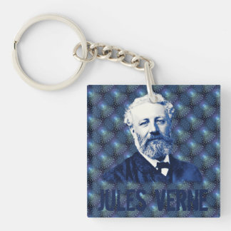 Jules Verne Steampunk Key Chain