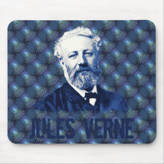 Jules Verne Steampunk Mousepad