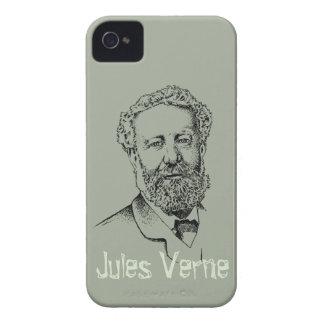 Jules Verne the steampunk writer iPhone 4 Case