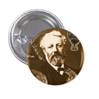 Jules Verne tributes Button