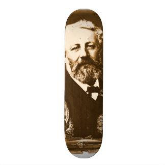 Jules Verne tributes Skateboard Deck