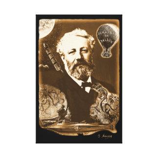 Jules Verne tributo Impresión En Lienzo
