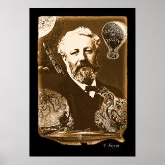 Jules Verne tributo Póster