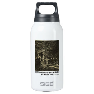Jules Verne Twenty Thousand Leagues Funeral Insulated Water Bottle