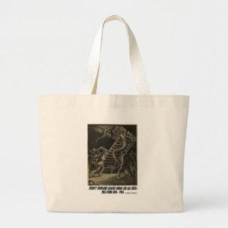 Jules Verne Twenty Thousand Leagues Squid Canvas Bag