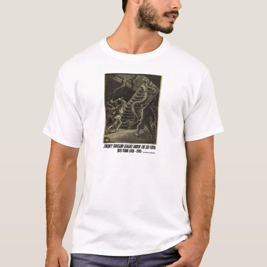 Jules Verne Twenty Thousand Leagues Squid T-Shirt