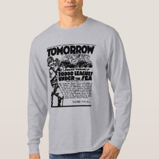 Jules Verne's 20,000 Leagues Under The Sea 1917 Tee Shirt