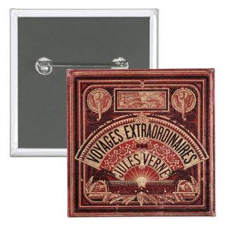 "Jules Verne's ""VOYAGES EXTRAORDINAIRES"" Pinback Button"