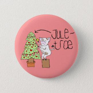 Juletræ button