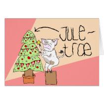 Juletræ card