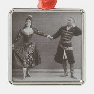 Julia and Felix Kschessinsky in the mazu Christmas Ornaments
