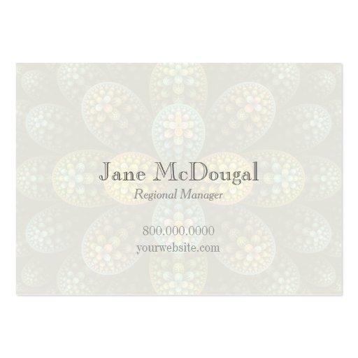 """Julia Bubble"" Chubby Business Card Business Card"