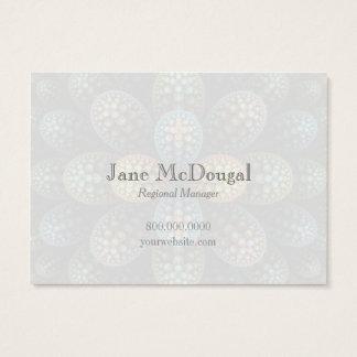 """Julia Bubble"" Chubby Business Card"