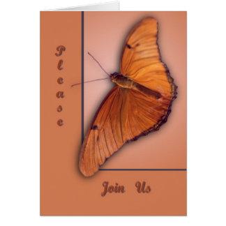 Julia Butterfly Card