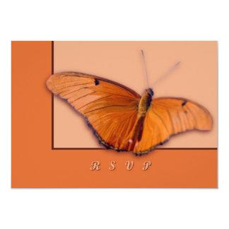 Julia Butterfly 5x7 Paper Invitation Card