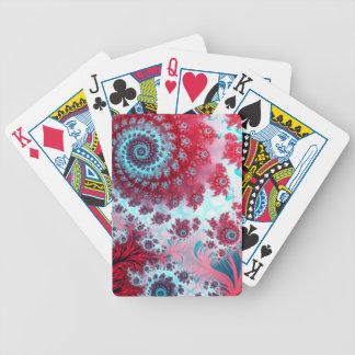 Julia Fractal 3 Bicycle Playing Cards