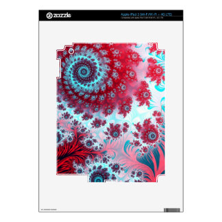 Julia Fractal 3 iPad 3 Decal