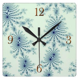 Julia Fractal Abstract Art Wall Clock