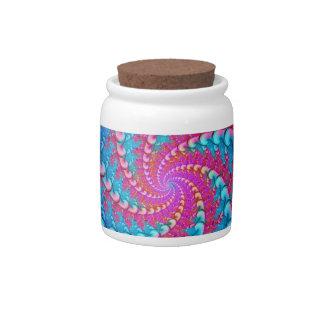 Julia Fractal Candy Jar