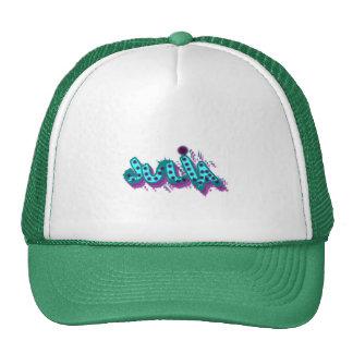 Julia Graffiti Trucker Hat, Cap Trucker Hat