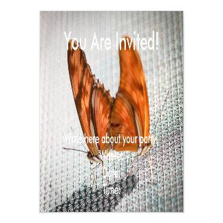 Julia Heliconian Dryas Julia Magnetic Card
