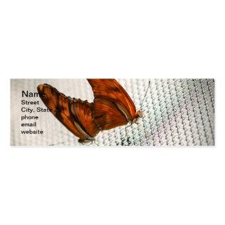 Julia Heliconian Dryas Julia Mini Business Card