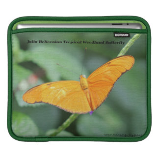 Julia Heliconian Orange Butterfly iPad Sleeve