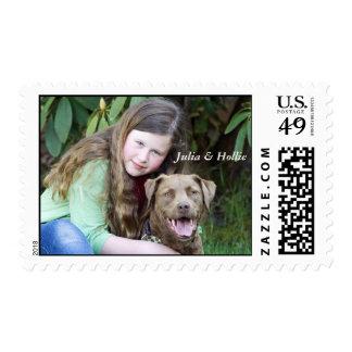 Julia & Hollie Stamp