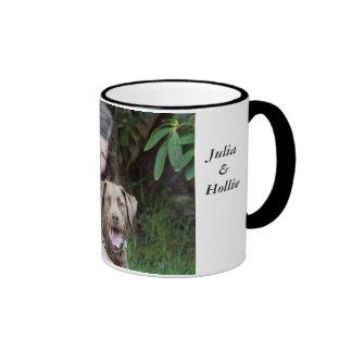 Julia & Hollie Ringer Mug