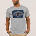 Julia In Blue - Fractal Art T-Shirt