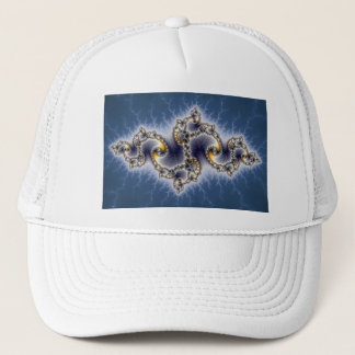 Julia In Blue - Fractal Art Trucker Hat