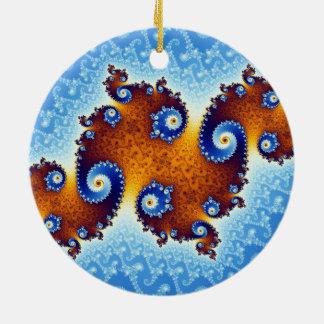 Julia Island Mandelbrot Set Ornaments