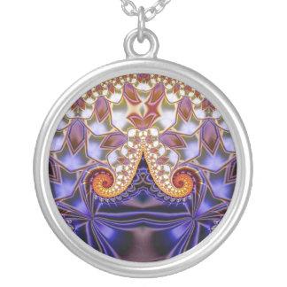 Julia Jewel Round Pendant Necklace