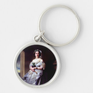 Julia Louise Bosville, Lady Middleton Silver-Colored Round Keychain