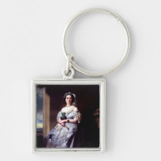 Julia Louise Bosville, Lady Middleton Silver-Colored Square Keychain