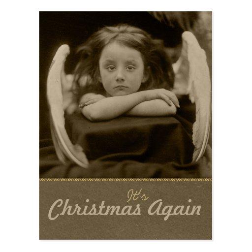 Julia Margaret Cameron CC0308 Christmas Postcard
