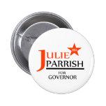 Julia Parrish para el perno del gobernador Pin