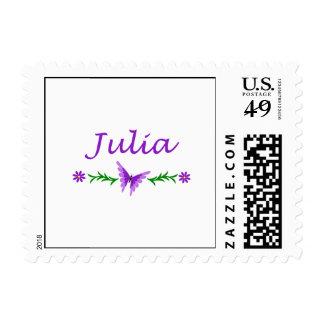 Julia (Purple Butterfly) Postage