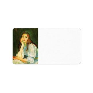 Julia que soña por Berthe Morisot Etiquetas De Dirección