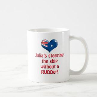 Julia s Steering The Ship Mugs