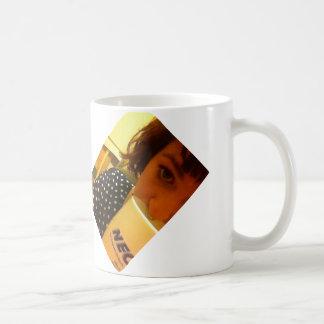 """Julia Scroggin """"Self-Portrait With Mug"""" Mug"""