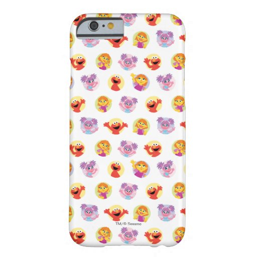 Julia & Sesame Street Friends Pattern Barely There iPhone 6 Case