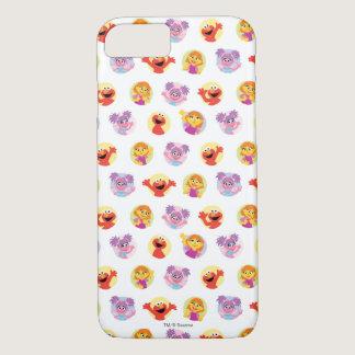 Julia & Sesame Street Friends Pattern iPhone 8/7 Case