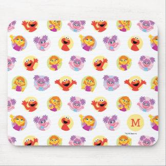 Julia & Sesame Street Friends Pattern Mouse Pad