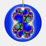 Julia Set Mandelbrot Set Fractal Geometry Christmas Tree Ornaments