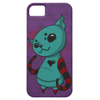 Julia, The Spider Kitty Poses iPhone SE/5/5s Case