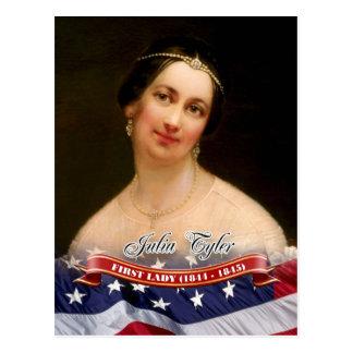 Julia Tyler, primera señora de los E.E.U.U. Postal