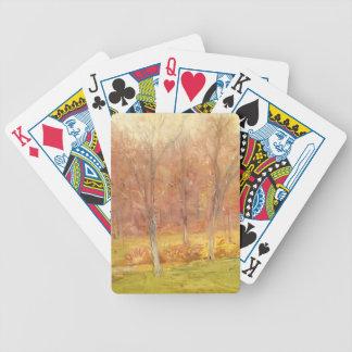 Julian Alden Weir- Autumn Rain Card Decks