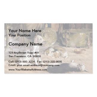 Julian Alden Weir: Fireside Dreams Double-Sided Standard Business Cards (Pack Of 100)